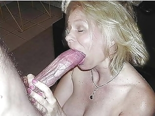 blowjob facial granny