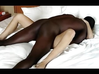 amateur blonde interracial