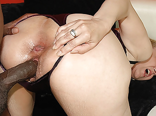 blowjob mature interracial