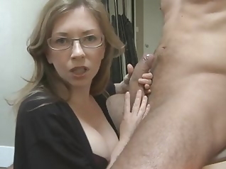 blowjob mature handjob