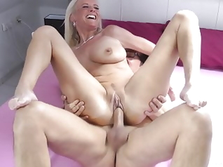 blonde blowjob celebrity