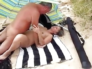 beach mature milf