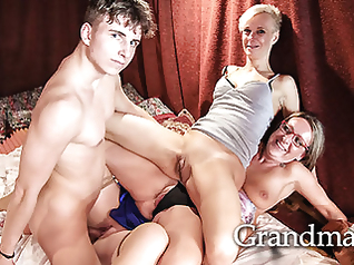 hardcore mature group sex