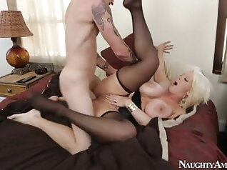 hardcore stockings milf