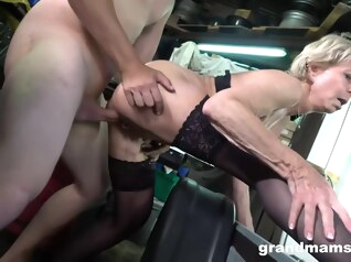 blonde handjob hd