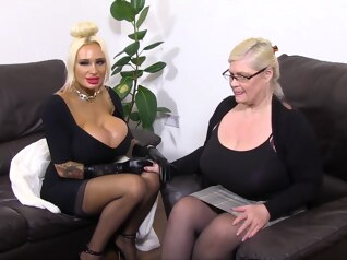 bbw big tits blonde